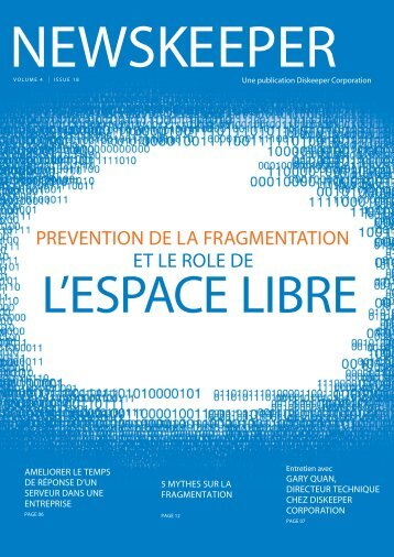 PREVENTION DE LA FRAGMENTATION ET LE ROLE DE