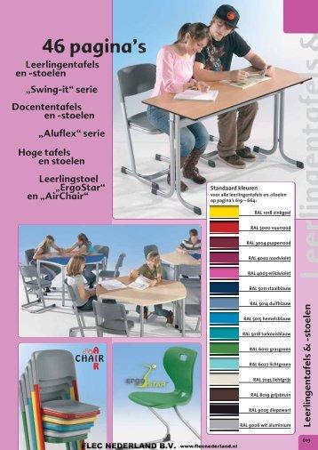 Leerlingentafels & -stoelen - FLEC Nederland BV