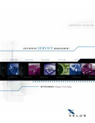 16-page software and services brochure - Tech Savvy Marketing ...