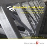 Sustainable Construction - Building & Construction Authority