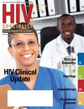the unity - American Academy of HIV Medicine