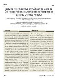 Estudo Retrospectivo do Câncer de Colo do Útero das ... - NewsLab
