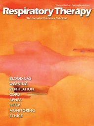 blood gas weaning ventilation copd apnea hfov monitoring ethics