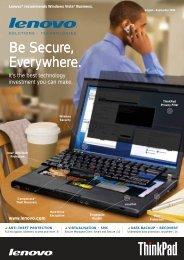August 2009 - Lenovo | US