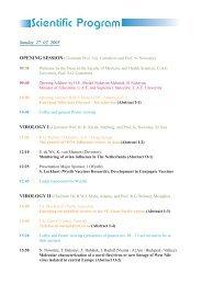 Scientific Program - College of Medicine and Health Science
