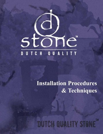 to view Dutch Quality Installation Guidelines. - I-XL Industries