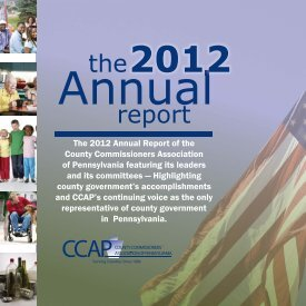 Annual Report - County Commissioners Association of Pennsylvania