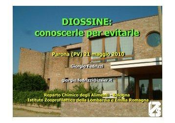 Diossine: conoscerle per evitarle - Comitato Salute e Ambiente di ...