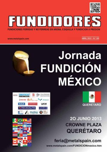 FUNDICIONES FERREAS Y NO FERREAS EN ARENA ... - Metalspain
