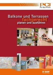 Balkone und Terrassen fachgerecht planen und ausführen