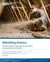 Rebuilding America - The Sallan Foundation