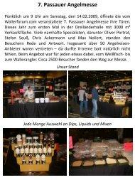 7. Passauer Angelmesse - x-treme bait