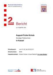 Bericht - August-Fricke-Schule