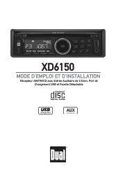 XD6150 - Dual Electronics