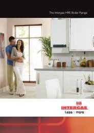 The Intergas HRE Boiler Range - Atmos Heating Systems