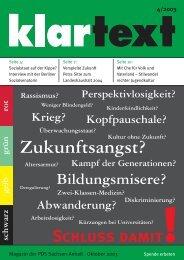klartext 04/2003 - PDS Sachsen-Anhalt
