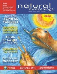 September 2011 - Columbia Natural Awakenings–Home