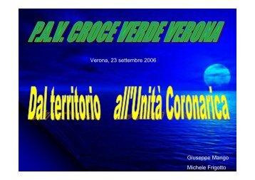 Dal territorio all'Unità Coronarica. - Cuorediverona.it