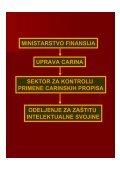 zaštita prava intelektualne svojine u carinskom postupku - Page 2