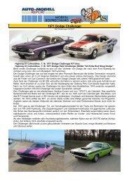 1971 Dodge Hemi Challenger SS/DA