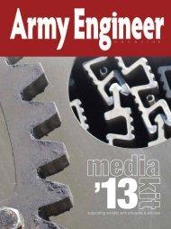 2013 Media Kit - Army Engineer Association