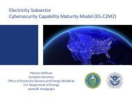 ES-C2M2 - National Association of State Energy Officials