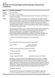 Buchung von Vorauszahlungen auf ... - Kommunale Verwaltung