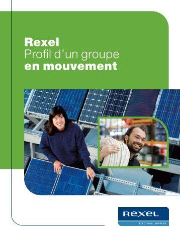 Rexel Profil d'un groupe en mouvement