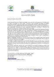 Informativos - Site da PFDC