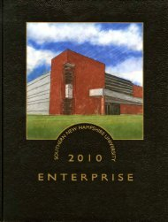 Southern New Hampshire University 2010 Enterprise [yearbook]