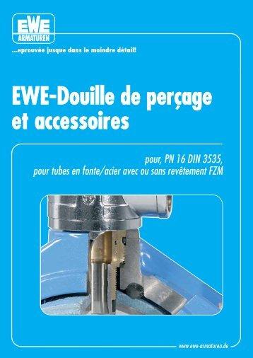 EWE-Douille de perçage et accessoires