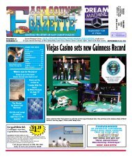 September 20 - East County Gazette