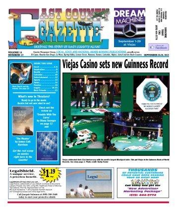 September 20 - East County Gazette