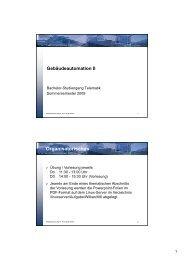 GebA II 0 Organisatorisches.pdf - Telematik TH Wildau