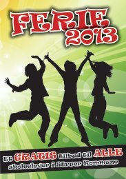Ferie 2013 - Struer kommune