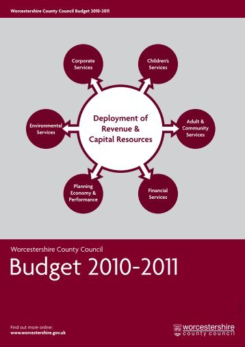Budget 2010-2011 - Worcestershire County Council