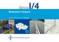 Silnice I/4 Strakonice-Vimperk - Ředitelství silnic a dálnic