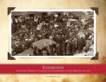 Download Exhibition Program Booklet (PDF) - Morgan State University