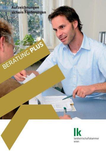 Aufzeichnungen sichern Förderungen - Landwirtschaftskammer Wien