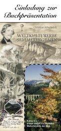 Einladung zur Buchpräsentation - Briefmarken Gilg