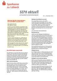 Nr. 2 - Dezember 2012 - Sparkasse zu Lübeck
