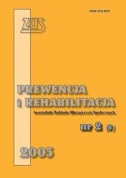 Prewencja i rehabilitacja nr 2/2005 (8) (2,64MB)
