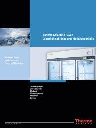 Thermo Scientific Revco Laborkühlschränke und -tiefkühlschränke