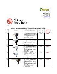(ASV) pneimoinstrumentu AKCIJA - MC Rolls