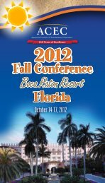 Florida Florida Florida Florida - American Council of Engineering ...