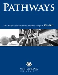 Pathways 2011-2012 - Villanova University