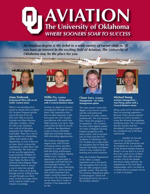 The University of Oklahoma - OU Aviation - University of
