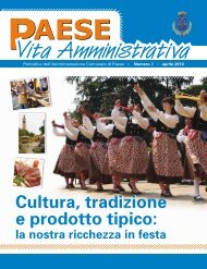 Aprile 2010 (PDF 1,44Mb) - Comune di Paese