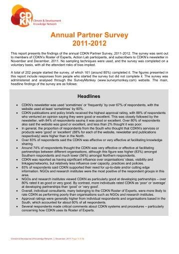 findings - CDKN Global