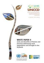 White Paper II - UNCCD 2nd Scientific Conference